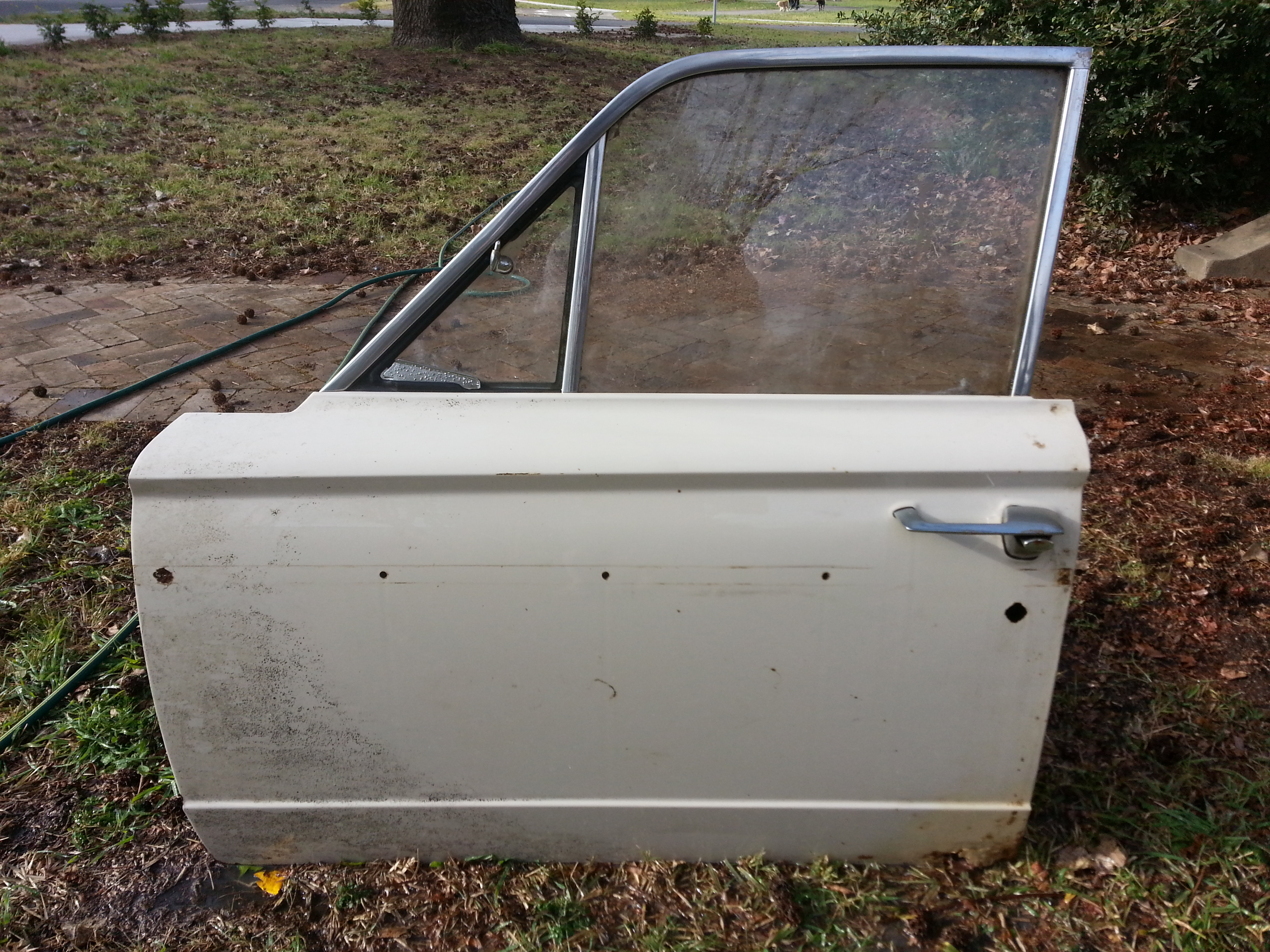 Front Drivers Side Door Shell, Salvage